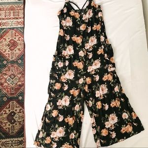 Pants - Floral Spring Jumpsuit | Size Small | Worn Once